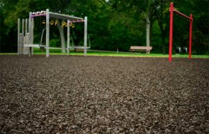 Kids love rubber mulch for all the wrong reasons