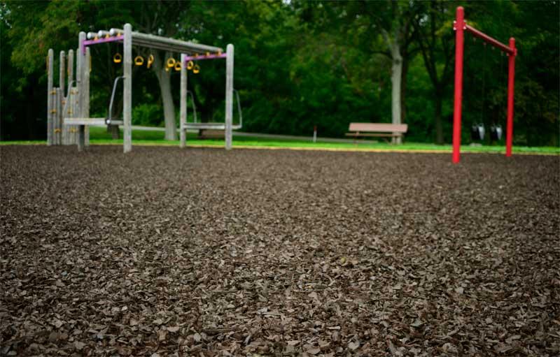 PHOTO: Ground Smart Rubber Mulch