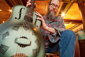 Charlie Parr will be one of the headliners at the June 18, 2016 Great Northern Radio Show at the Reif Center in Grand Rapids, Minnesota. PHOTO: Peter Lee