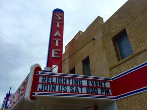 Ely's State Theater to relight iconic marquee