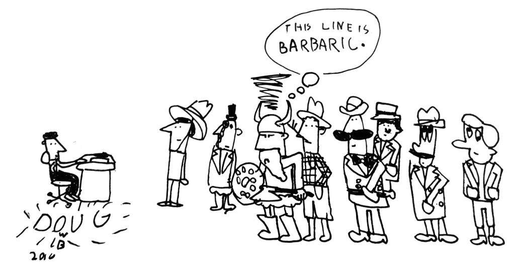 Cartoon by Douglas W. Brown for MinnesotaBrown.com