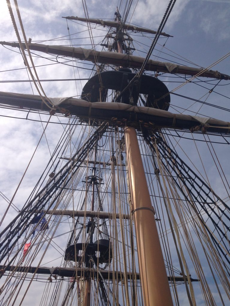 The rigging on the USS Niagara at Tall Ships 2016. (Aaron J. Brown)