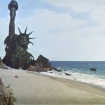 """""""You blew it up."""" Scene from """"Planet of the Apes"""" (1968)."""