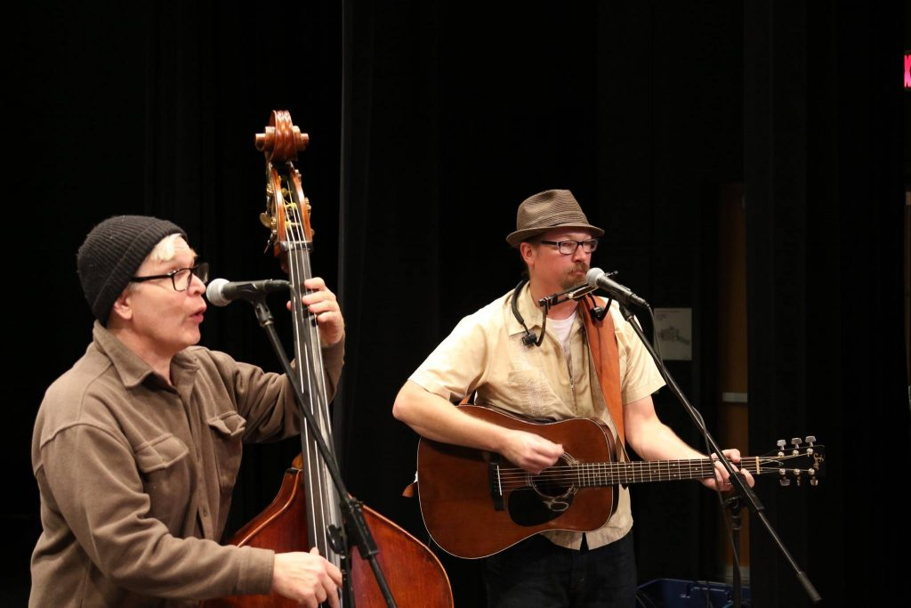 Woodblind performs during the Nov. 12, 2016 Great Northern Radio Show in Duluth, Minnesota.
