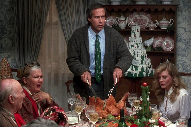 """National Lampoon's Christmas Vacation"" (1989) Warner Bros."