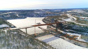 New Highway 53 bridge on track for 2017 opening