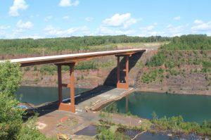 Highway 53 bridge opens this week