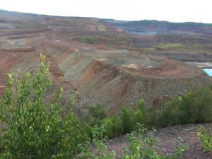 Hibbing's Hull Rust mine view on the move