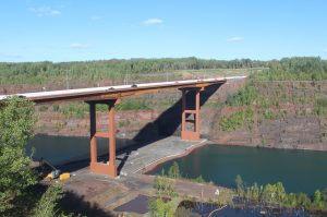 'Taconite Sky Bridge' now open to Highway 53 traffic