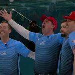Shuster Rink wins historic men's curling gold for U.S.