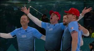 Shuster Rink wins historic men's curling gold for U.S.