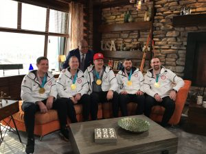 Heroes on ice: Team Shuster homecoming today
