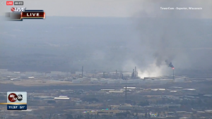Refinery explosion rocks Superior, injures several