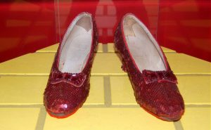 Authorities recover Dorothy's stolen ruby slippers