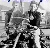Dylan Days 2008 featured a rare photo of Bob Dylan on a friend's motorcycle in his hometown of Hibbing, Minnesota.