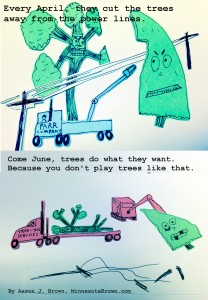 You don't play trees like that